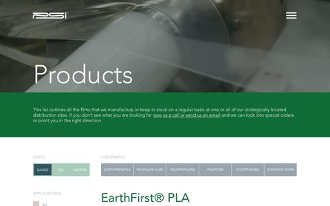 Screenshot of Products Page plasticsuppliers.com - Products | Plastic Suppliers, Inc. - captured Jan. 29, 2017