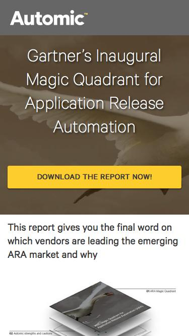 Automic Recognized as a Leader by Gartner in First ARA Magic Quadrant   Survey Report