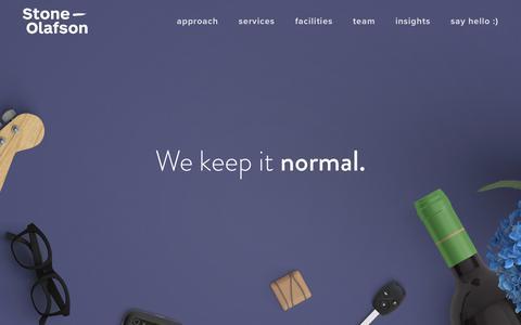 Screenshot of Team Page stone-olafson.com - Market Research Consultants & Data Insights | Stone Olafson — Stone Olafson - captured Sept. 21, 2018