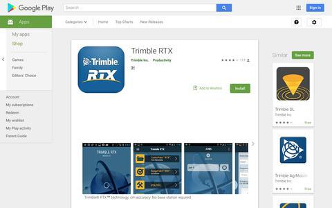 Trimble RTX - Apps on Google Play