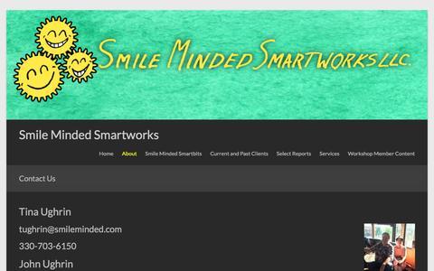 Screenshot of Contact Page smileminded.com - Contact Us – Smile Minded Smartworks - captured Dec. 1, 2016