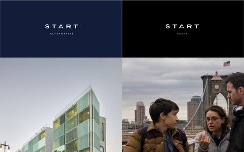 Screenshot of Home Page start-alternative.com - Start Media / Start Alternative - captured Sept. 2, 2015