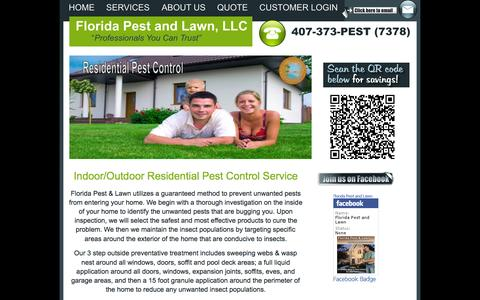 Screenshot of Team Page floridapestandlawn.com - Residential Pest Control ~ 407-373-7378 ~ Florida Pest and Lawn LLC - captured Oct. 6, 2014