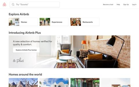 Vacation Rentals, Homes, Experiences & Places - Airbnb