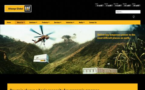 Screenshot of About Page altaaqaglobal.com - Altaaqa Global - About Us - captured Oct. 4, 2014
