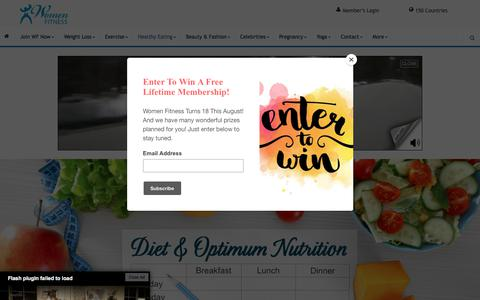 Diet & Optimum Nutrition - Women Fitness