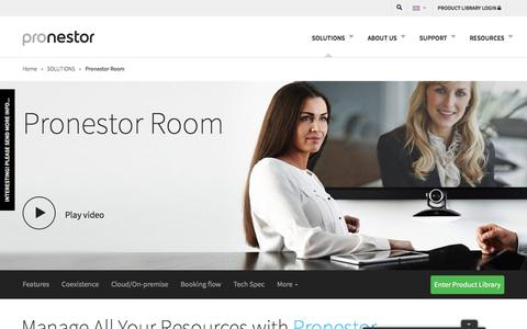 "Meeting Room Booking System Made Easy : Pronestorâ""¢ Room Solutions"