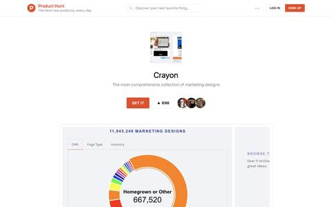 Crayon - Product Hunt