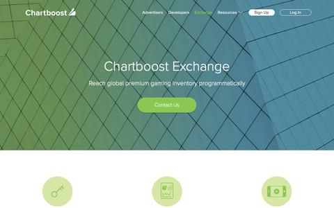 Chartboost Programmatic Ad Exchange | Chartboost
