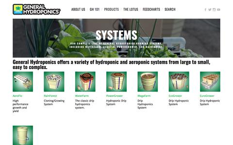 Systems — General Hydroponics