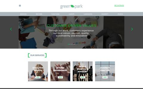 Green Park | Diversity Recruitment Specialists