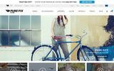 Old Screenshot Pure Fix Cycles, LLC Home Page