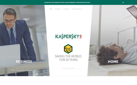 Antivirus & Internet Security Protection Software | Kaspersky Lab US