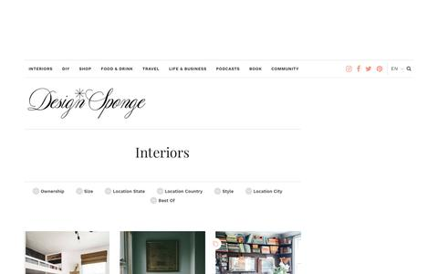 Interiors – Design*Sponge