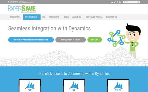Microsoft Dynamics - Miami, Coral Gables, Hialeah | PaperSave