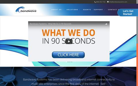 Home Page - Bandwave Systems
