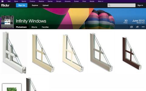 Screenshot of Flickr Page flickr.com - Flickr: Infinity Windows' Photostream - captured Oct. 23, 2014