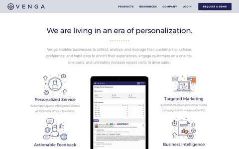 Powering Personalized Experiences - Venga
