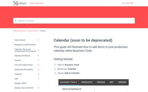 Screenshot of Pricing Page inksoft.com - Calendar (soon to be deprecated) - captured Jan. 2, 2020