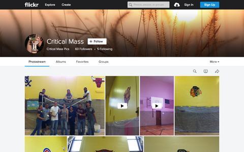 Screenshot of Flickr Page flickr.com - Critical Mass   Flickr - Photo Sharing! - captured Oct. 1, 2015