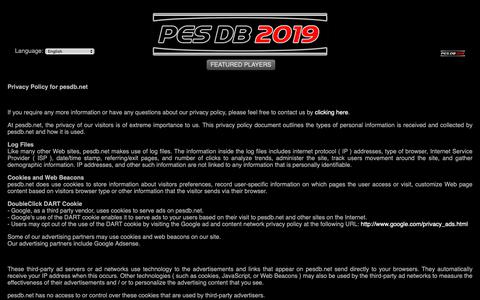 pesdb net's Web Marketing Designs | Low traffic | Crayon