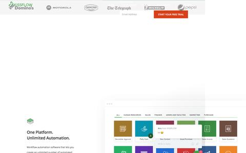 Workflow Management Software & Automation Tools