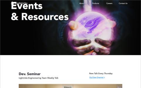 Screenshot of Blog lightricks.com - Blog - captured July 19, 2018