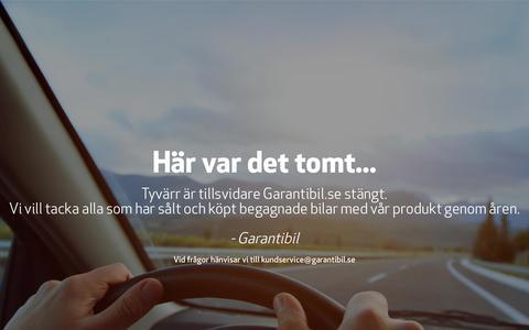 Garantibil - Det smartare sättet att sälja och köpa bil