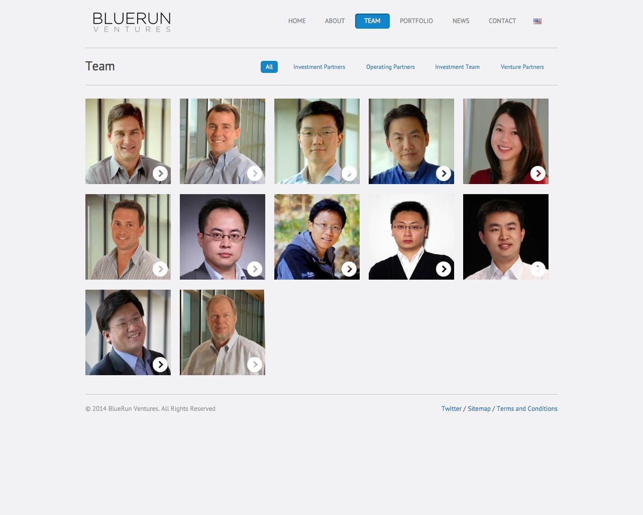 Screenshot of brv.com - Teams Archive » BlueRun Ventures - captured Sept. 19, 2014