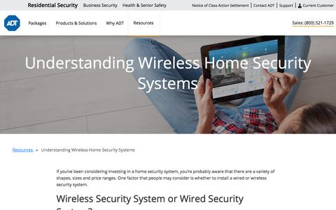 Wireless Security Alarms | Home Security Systems by ADT