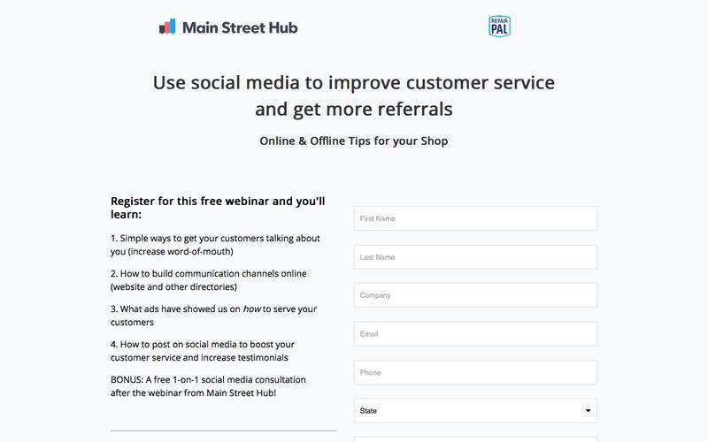 Customer Service Webinar