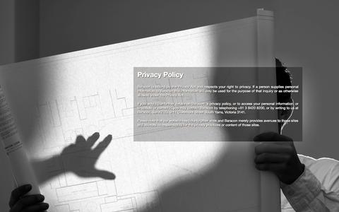 Screenshot of Privacy Page baracon.com.au - Privacy Policy – Baracon - captured Sept. 30, 2014