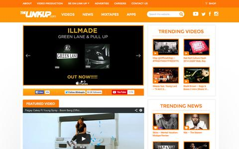 Screenshot of Press Page thelinkup.com - The Link Up - No. 1 For Talent & Entertainment - captured Nov. 2, 2014