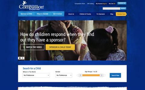 Sponsor a Child - Compassion International