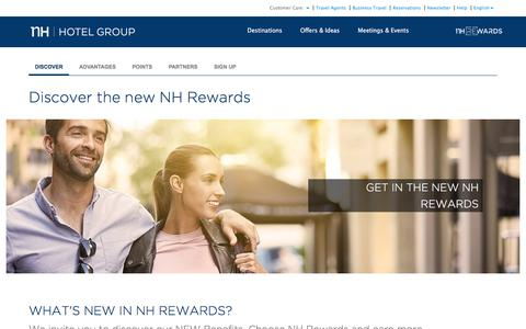 NH Rewards: book hotels with a discount and earn free nights