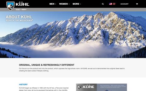 About Kühl Clothing | Born in the Mountains