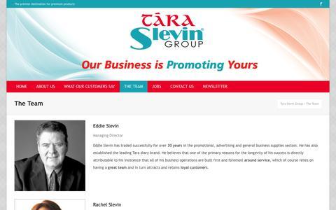 Screenshot of Team Page taraslevingroup.ie - Tara Slevin Group | Eddie Slevin| Meet the Team | Tara Slevin Group - captured Sept. 30, 2014