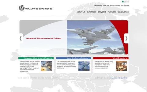 Screenshot of Login Page haldanesystems.co.uk - HALDANE SYSTEMS - captured Oct. 1, 2014