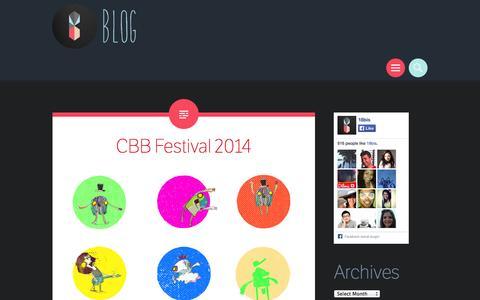 Screenshot of Blog 18bis.tv - 18bis Blog - captured Oct. 27, 2014