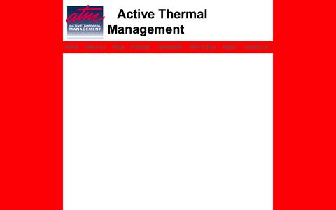 Screenshot of Products Page activethermal.com - home theater cooling - captured Oct. 4, 2014