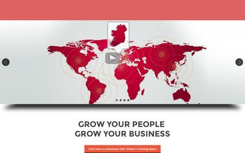 Screenshot of Products Page omtglobal.com - OMT Global - captured Sept. 21, 2015