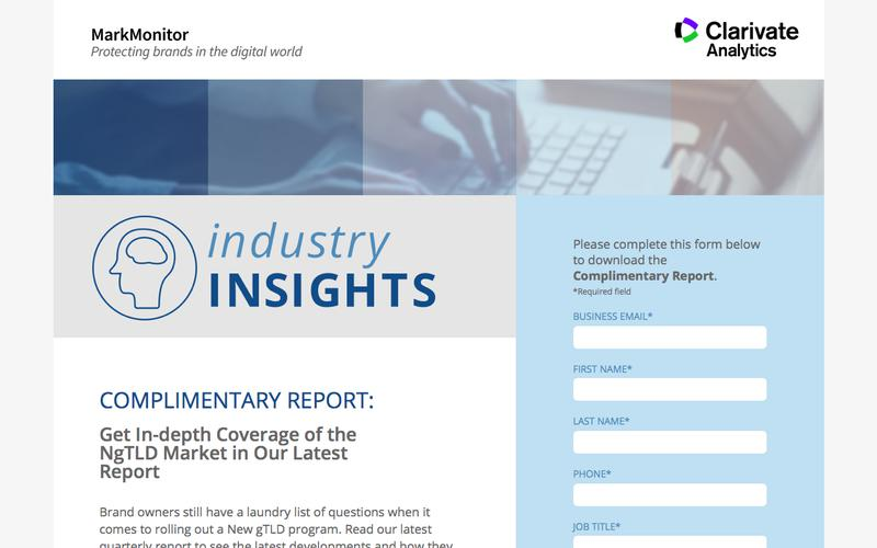 MarkMonitor Industry Insights