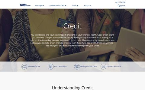 Credit Help - Credit Counseling - Credit Report and Score