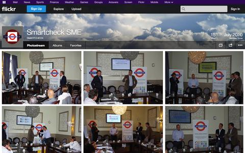 Screenshot of Flickr Page flickr.com - Flickr: SMARTCHECK's Photostream - captured Oct. 23, 2014