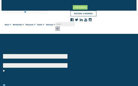 Screenshot of Login Page wef.org - Login - captured Oct. 17, 2018