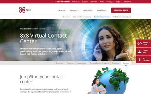 Screenshot of Services Page 8x8.com - Installation  | 8x8, Inc. - captured Dec. 2, 2015