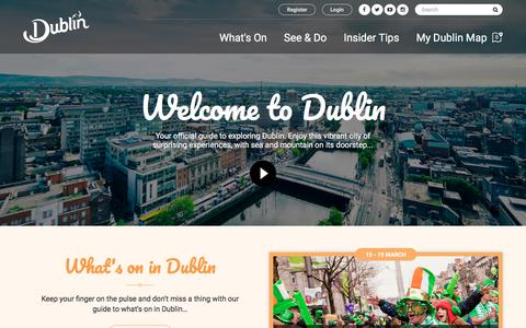 What's On and Things to Do in Dublin | Dublin's Official Tourism Site | Visit Dublin