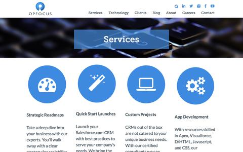 Services - OpFocus | OpFocus