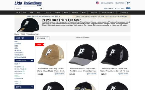 Providence Friars Fan Gear | Providence Friars Store | lids.com