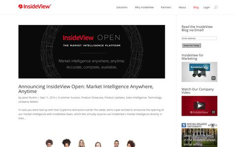 CRM Intelligence | InsideView